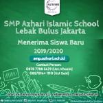 Junior High School Enrollment 2019/2020 (1 - 18 Oktober 2018) - Gelombang II (19 Oktober 2018)