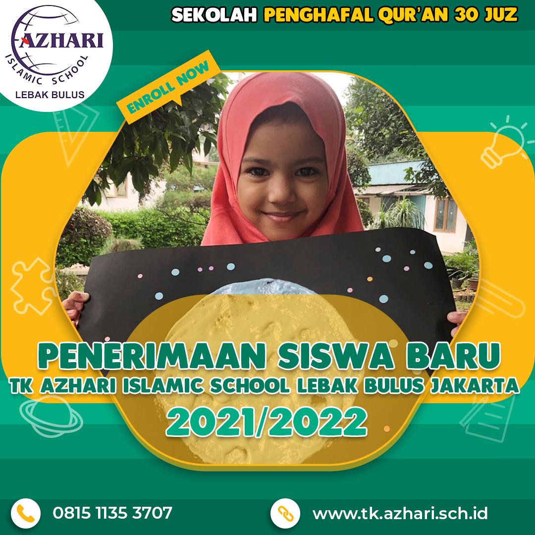 Penerimaan Murid Baru PG Azhari Islamic School Lebak Bulus